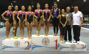 Dymiana Cox won the Junior Elite national championship