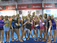 dynamic gymnastic team