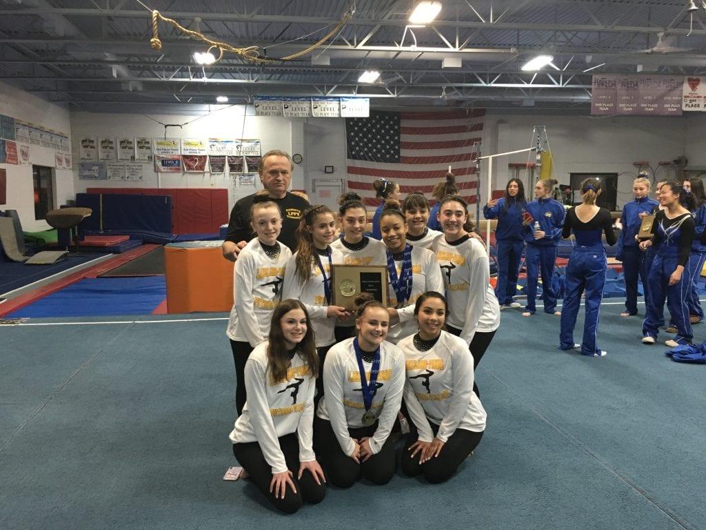 dynamic gymnastics team