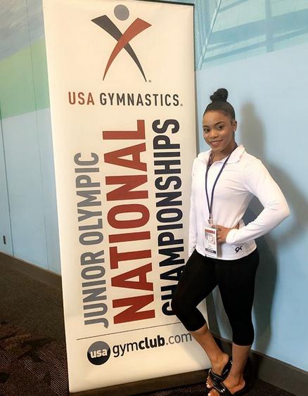 dymiana cox usa gynnastics national championship