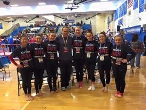 dynamic gymnastics competitive gymnastics team
