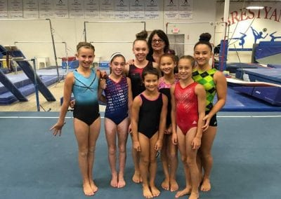 tedora with girls team